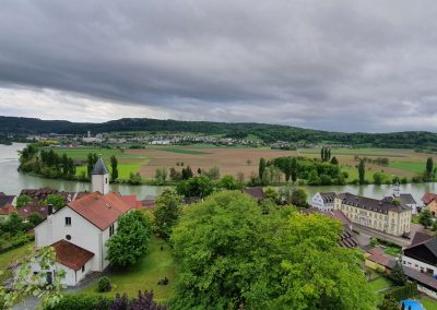 Kadelburg von oben